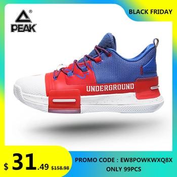 PEAK Lou Williams-Zapatillas de baloncesto para hombre, calzado deportivo resistente, antideslizante, adiestramiento...