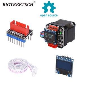 BIGTREETECH S42B V1.1 42 Stepper Motor Closed Loop Driver Control Board with OLED Display TMC2208UART Drive for Ender 3 SKR V1.4