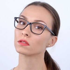 Image 5 - Kirka Purple Women Spectacles Frames Oversized Eyeglass Frames Clear Lens Glasses Optical Prescription Glasses Frame For Women