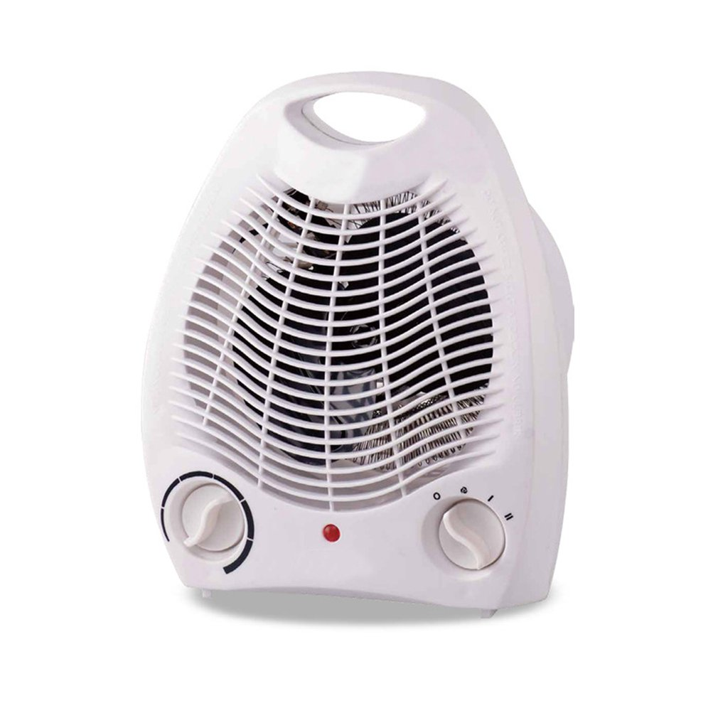 Hot And Cold Air Heater Mini Electric Heater European Standard Heater Hot Air Small Air Conditioner