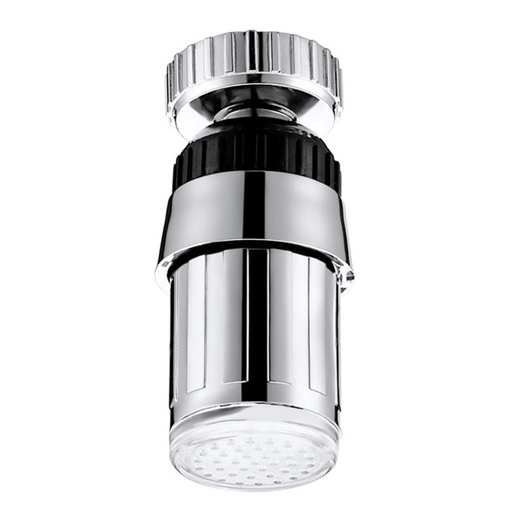 Led Intelligent Durable RGB Glow Bathroom Home Practical Temperature Sensor Kitchen Shower Faucet Light