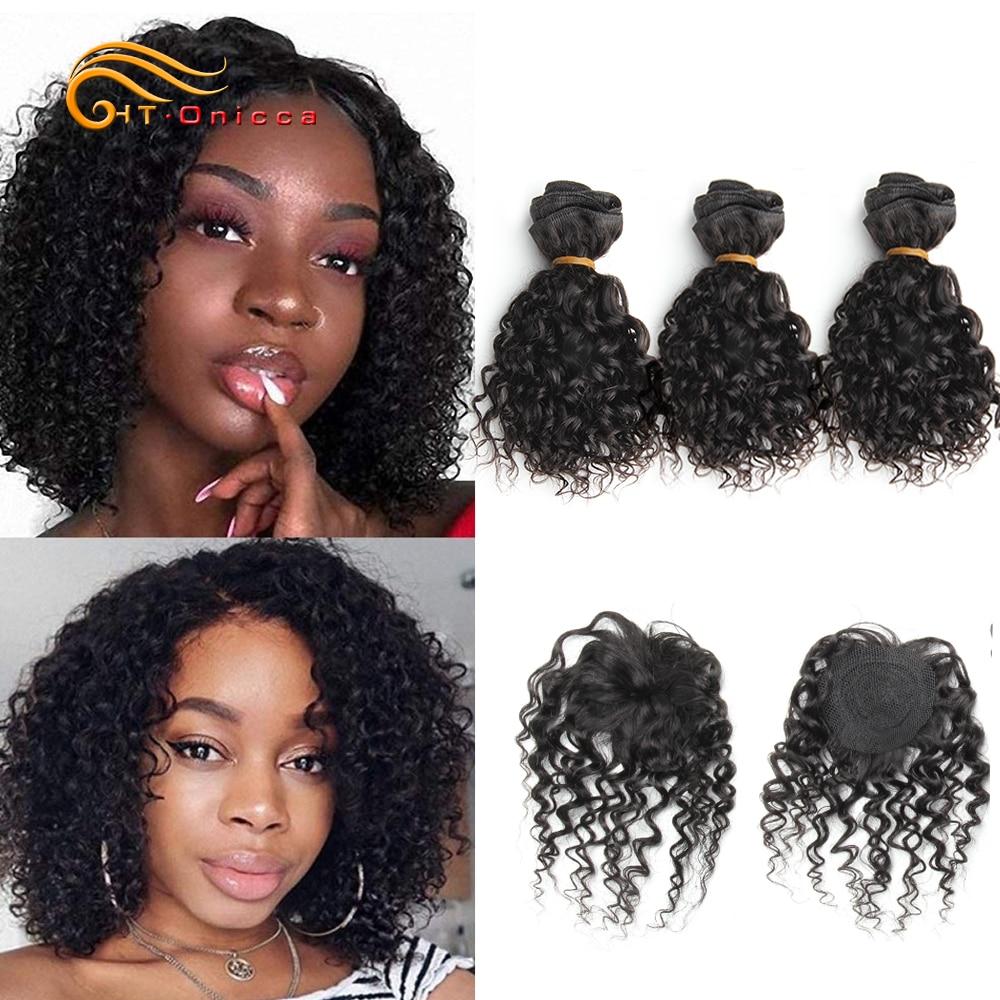 Indian Kinky Curly Hair Bundles 8