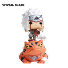 NOVO! Pop naruto jiraiya no sapo #73 com caixa de vinil ação modelo brinquedos para crianças presente