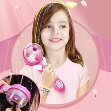 Electric Automatic Hair Braider Diy Braiding Hairstyle Tool Twist Braider Machine Hair Braid Weave Toys For Girl Child Gift