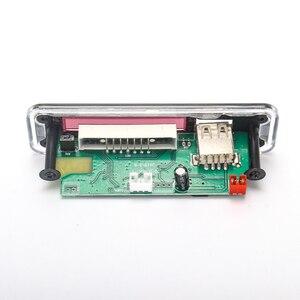 Image 5 - Módulo de Radio FM para coche, USB, TF, inalámbrico, Bluetooth, 5V, 12V, placa decodificadora MP3, WMA, con Control remoto