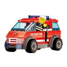 Конструктор пожарная серия мелкие частицы Обучающие сборные