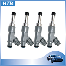4Pcs 23250-0C010 High Quality Fuel Injector Nozzle For Toyota Tacoma Innova 4Runner 2.7L 2010 232500C010 23209-0C010 Car Engine peivso 23250 75070 23209 75070 23209 79115 fuel injector for toyota hilux 2 0l 1rze t u v 2 0l 2001 2005