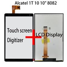 Новый 10-дюймовый сенсорный экран 8084 дигитайзер ЖК-дисплей Alcatel 1T 10 10 дюймов 8082 ЖК-дисплей Alcatel ONETOUCH Pixi 3 (10) 8082 сенсорная панель стекло