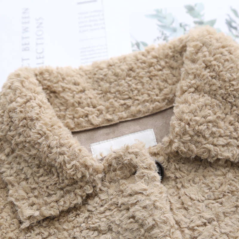 Koreaanse Dikke Lam Wol Jassen Vrouw Kleding Vintage Plus Size Winter Jas Vrouwelijke Warme Jas Vrouwen Jassen Tops Ll006 - 6