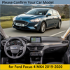 Dashboard Cover Protective Pad for Ford Focus 4 2019 2020 MK4 Car Accessories Dash Board Sunshade Anti-UV Carpet Dashmat Cushion discount