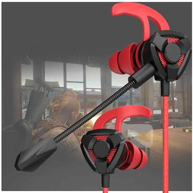 EastVita Gaming écouteur pour Pubg PS4 CSGO Casque jeux Casque 7.1 avec micro contrôle du Volume PC Gamer écouteurs