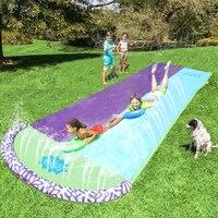 4 8 m Riesen Surf 'N Doppel Wasser Rutsche Aufblasbare Spielen Zentrum Rutsche Für Kinder Sommer Hinterhof Schwimmbad Spiele Im Freien spielzeug