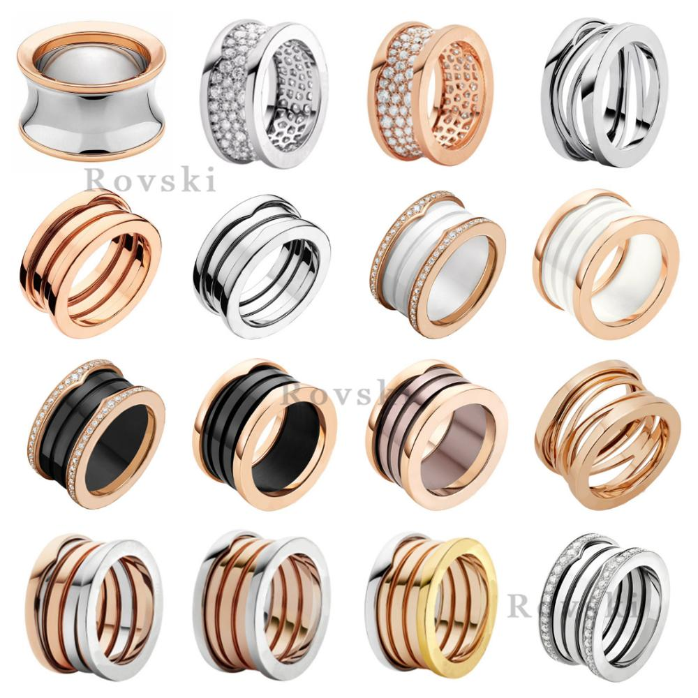 JZ  TFB High Quality Original DIY Ring For Bulgaria Women's Ring Lovers Luxury Couple Ring Jewelry Gift Free Shipping