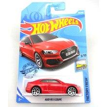 חם גלגלים 1:64 רכב (אאודי RS 5 קופה) (84 אאודי ספורט QUATTRO) (17 אאודי RS 6 AVANT) אספן מהדורת מתכת Diecast דגם מכוניות