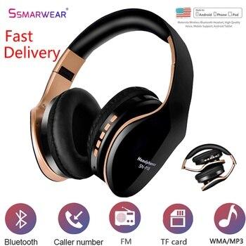 цена на Wireless Headphone Bluetooth Headset 3D Stereo Headphone Foldable Adjustable Gaming Earphone With Microphone For Mobile Phone PC