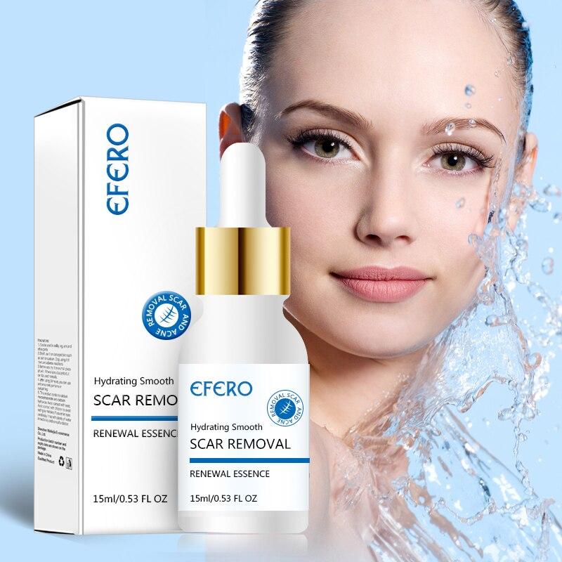 EFERO Rosto Soro para a Remoção de Acne Tratamento Da Acne Creme Para o Rosto de Clareamento Ácido Hialurônico Essência SkinCare Acido hialurônico