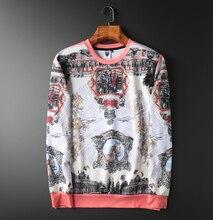 Hoodie Sweatshirt Heren Hip Hop Pullover Hoodies Streetwear Casual Mode Kleding Britse ontwerp hoodie 2020 katoen