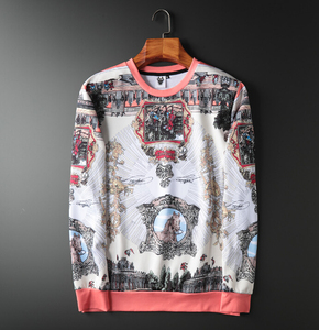 Image 1 - Hoodie Sweatshirt Herren Hip Hop Pullover Hoodies Streetwear Casual Mode Kleidung Britischen design hoodie 2020 baumwolle