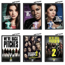 Pitch Perfect 2 Movie Home Decorative Painting White Kraft Paper Poster 42X30cm a long pitch home