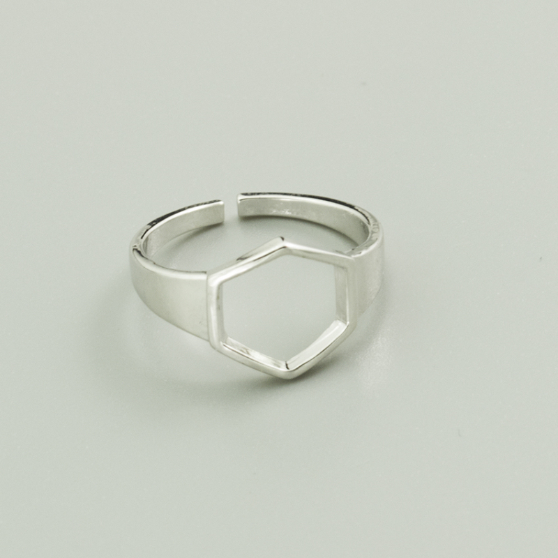 Sterling Silver Rings Punk Wide Rivet Vintage Ring Individual Crude Mania Adjustable Women Rings Big Wide Luxury Jewelry in Rings from Jewelry Accessories