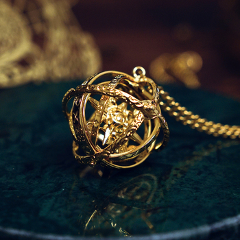 Romantic Universe Theme The Astronomical Ball Hand Made Brass Pendant DIY Bookmark Stationery Gift Free Shipping