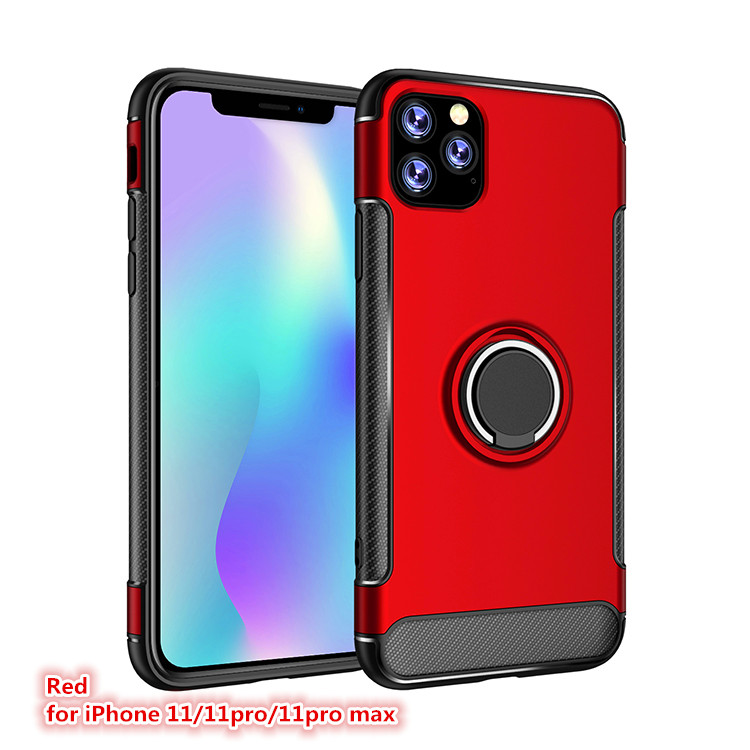 Hc6ef84eec8f9417c87eaedcfc49037e8N LSDI for iphone 11 pro max Case for iphone 6 6s 7 8 plus 5 5s se  Armor TPU+PC logo hole design Cover for x xr xs max