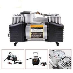 12V 150PSI Tragbare Heavy Duty Dual Zylinder Luftpumpe Luft Kompressor Reifen Inflator Für Auto Lkw Luft Kompressor Reifen inflator