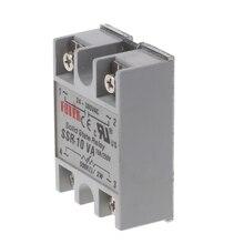 24V-380V SSR-10VA 10A DC-AC Solid State Relay Module For Temperature Controller Y1QB