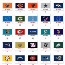 Football team emblem champion souvenir football team logo match venue cheer 3x5 feet flag pattern can be customized