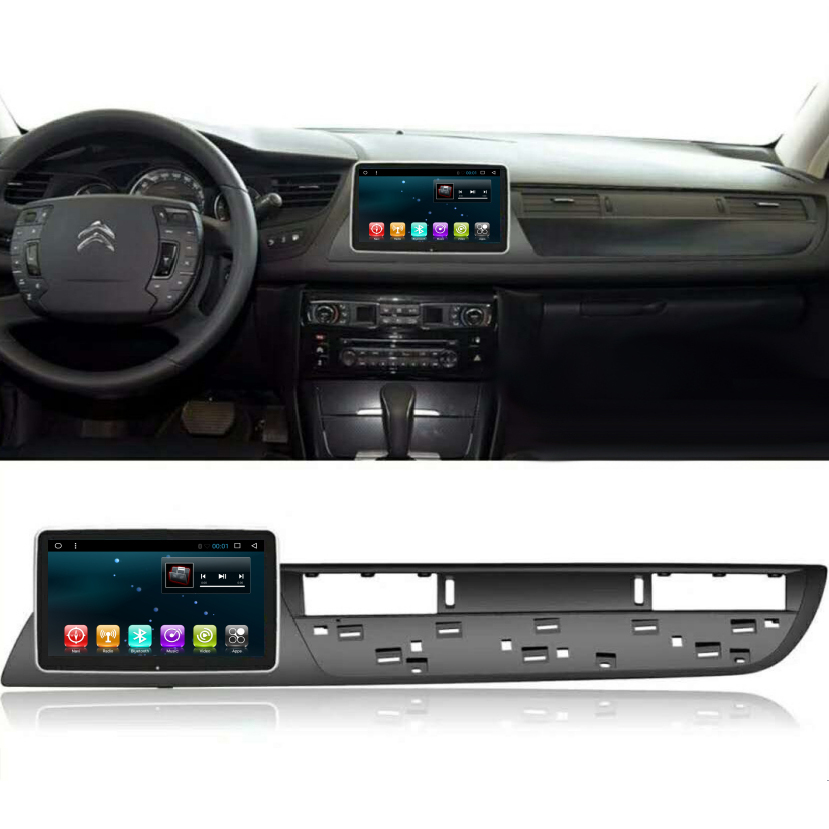 Chogath 8 Inch  Car Multimedia Player Quad Core Android 8.0 Car Radio GPS Navigation For Citroen C5 2009-2016