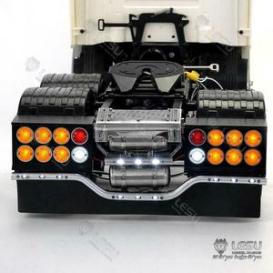 LESU Metal Rear Beam Taillight LED for 1/14 TAMIYA RC Scania R620 R470 Tractor Truck