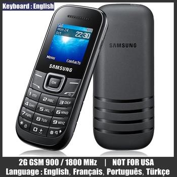 "Used Cellphones Original Unlocked Samsung E1200M E1200 1.52"" Mini Cheap Telephone 2G GSM 900/1800 NOT FOR USA Mobile Phones 1"