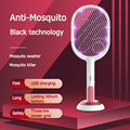 USB aufladbare Elektro Moskito-klatsche Insekt Fly Handheld Schläger Schützen Klatsche Fly Bug Mörder Falle Zapper Haushalt