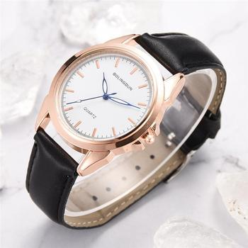 Hot 2020 Classic Dial Lovers Women Fashion Watches Zegarek Damski Casual Ladies Quartz Leather Watch Female Wristwatches Couple