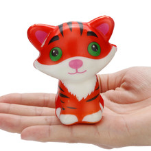 Super Slow Rising Cream Scented Stress Relief Toys tiger child adult Squeeze Toys Decompression toy antystresowe zabawki