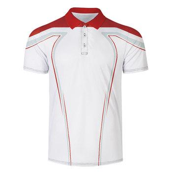 WAMNI marka szybkoschnący tenis Harajuku czarny 3D koszulka Polo Sport luźny pasek dorywczo mężczyzna Streetwear koszulka Polo dres tanie i dobre opinie Skręcić w dół kołnierz Krótki Poliester Pasuje większy niż zwykle proszę sprawdzić ten sklep jest dobór informacji