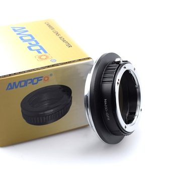 Nikon (G)-GFX Lens Adapter, Compatible with for Nikon F Mount Nikkor G-Type D/SLR Lens to Fujifilm GFX Medium Format Camera
