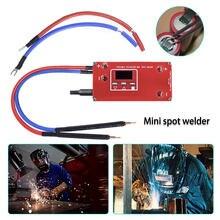 Portable Spot Welding Machine For 18650 12V Battery Spot Welder Semi-automatic PCB Circuit Board Welding