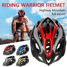 40 # capacete da bicicleta unisex capacete da bicicleta mtb ciclismo de estrada mountain bike esportes capacete de segurança capacete de transporte da gota