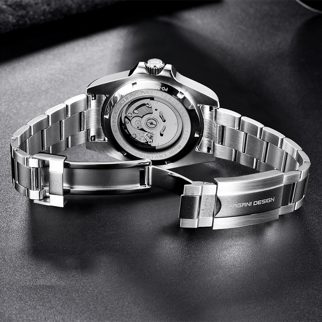 PAGANI Design Men Automatic Watch Sapphire Luxury Mechanical Wristwatch Stainless Steel Waterproof Watch Men relogio masculino 4