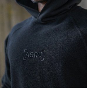 Image 5 - 2019 inverno bordado fitness ginásios com capuz moletom nova marca outono musculação cor pura manga comprida hoodies roupas