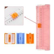 Прецизионная машина для резки бумаги A4/A5, канцелярский нож, портативное лезвие для резки листов и карт, резак для фотографий