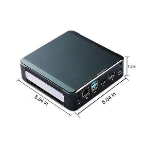 Image 3 - البسيطة لعبة PC النواة i7 8565U I5 8265U I3 8145U 2 * DDR4 RAM M.2 NVME SSD جيب Nuc الكمبيوتر ويندوز 10 برو نوع c 4K HDMI2.0 موانئ دبي