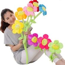 Cute plush toy simulation rose sun flower christmas wedding party home decoration plant WJ256