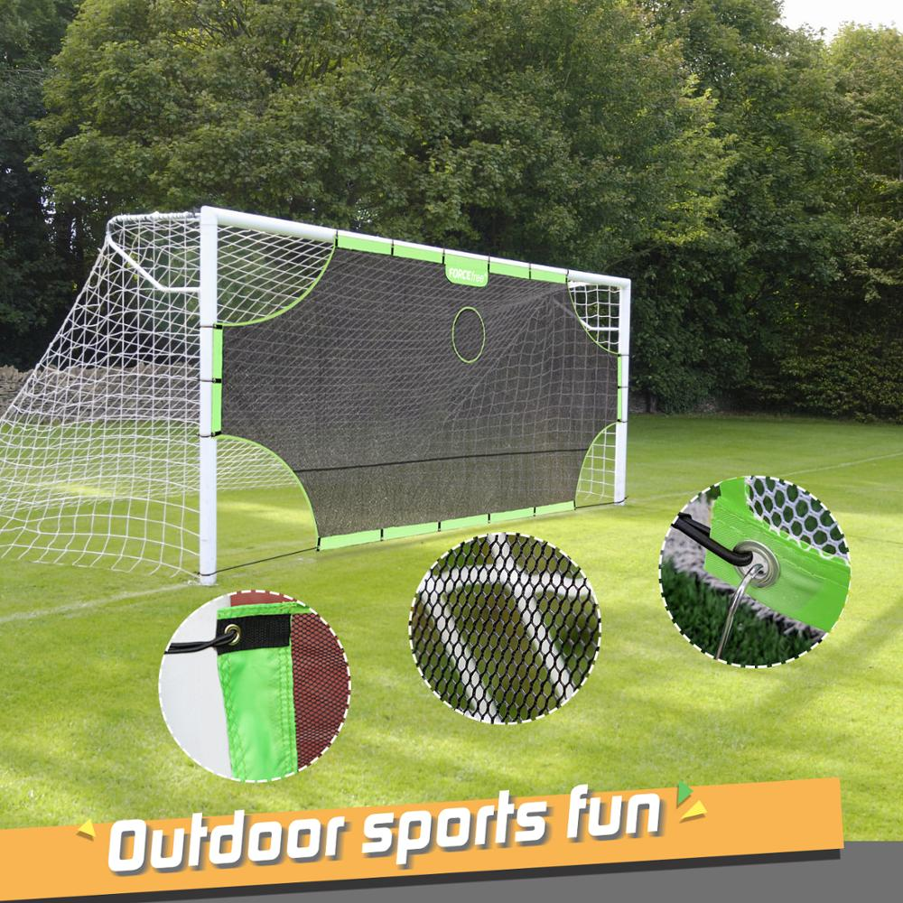 Fordable Soccer Goal Target Nets-with 5 Scoring Zones Extra-Sturdy Portable 2