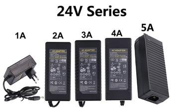 Power Adapter Supply DC 5V 12V 24V 1A 2A 3A 5A 6A 8A 5 12 24 V Volt Lighting Transformers LED Driver Strip Lamp