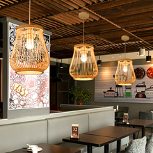 Minimalism Country Style Bamboo Pendent Lights Modern Hanging Lamp Chinese Products Restaurant Living Room Hotel Lighting
