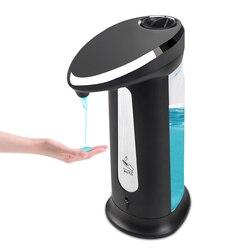 400Ml automatyczny dozownik mydła w płynie inteligentny czujnik bezdotykowy ABS galwaniczny środek dezynfekujący Dispensador do kuchni i łazienki