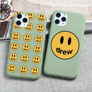 Justin Bieber drew house Phone Case for iPhone 12 mini 11 Pro Max X XR XS 8 7 6s Plus Candy green Silicone Cases image