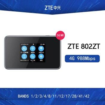 Odblokowany ZTE 802ZT 4G 988 mb/s LTE mobilny bezprzewodowy punkt dostępowy pasma 4g 1/2/3/ 4/8/11/12/17/28/41/42 PK HUAWEI E5788 NETGEAR M1